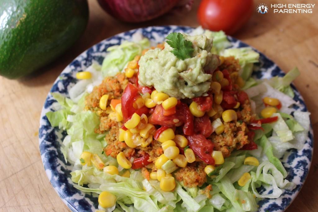 Vegan Taco Salad Recipe